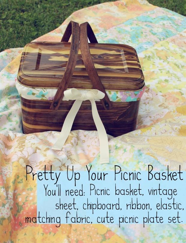 Picnic Basket Makeover