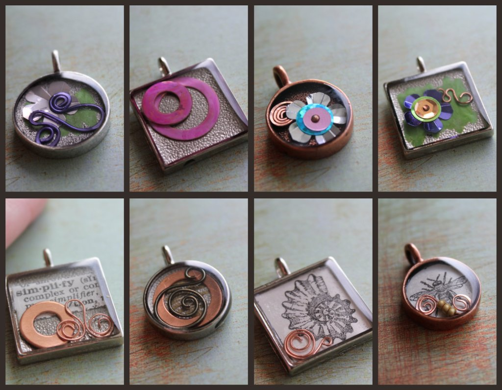 Pendant Collage