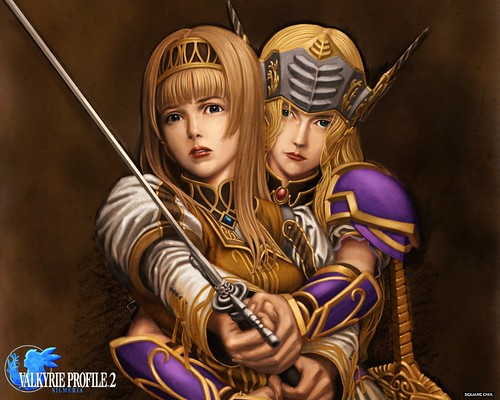 Valkyrie Profile 2 Silmeria - Wallpaper