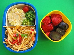 Tarako spaghetti lunch for toddler
