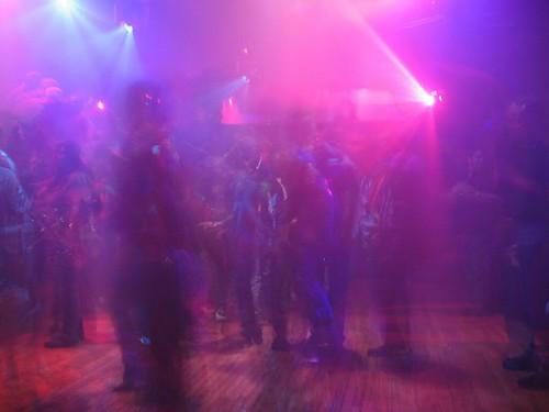 Dance floor at the pub