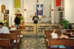 Luz María addresses the Congress