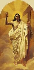 Karl Bryullov. Christ Resurrected. 1840s (01varvara) Tags: fineart russian orthodox iconography
