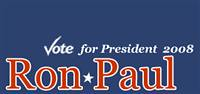 From California - Vote Ron Paul 2008