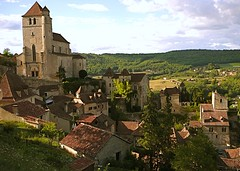 Saint-Cirq-Lapopie (-CyRiL-) Tags: france village pierre maisons lot saintcirqlapopie toits quercy midipyrenees midipyrénées pittoresque cyrilbkl departementdulot