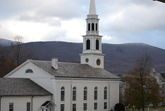 Congregational Church & Greylock Massif (ledges) Tags: williamstown williamscollege