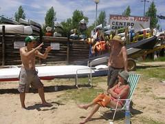 Domingo Entre Amigos amantes del Ro Paran (SergioDJT) Tags: sergio puerto daniel palos adrianita