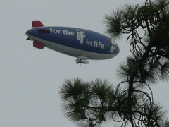Is it A Bird? (rjwill6) Tags: oakland snoopy blimp metlife