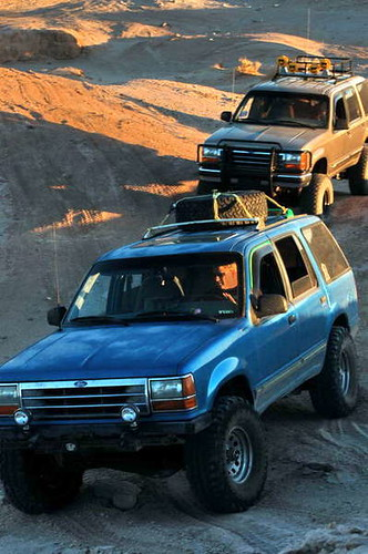 Spare tire roof rack ford explorer and ford ranger forums with it sitting on the roof sciox Image collections