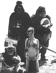 unseen scene: Leia, Ewok, Vader and Gamorrean