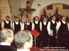 Cori polifonici a Zerfaliu