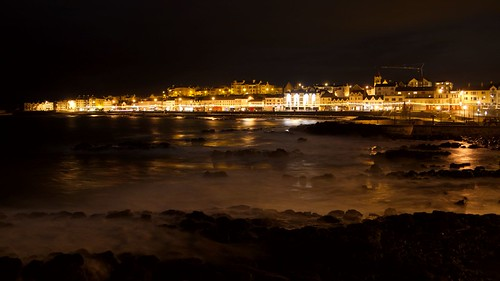 Portstewart at night