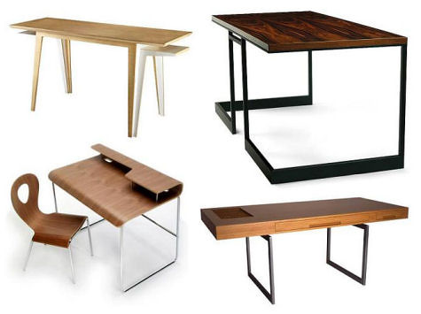 great wooden desk can be both classic and modern today s modern