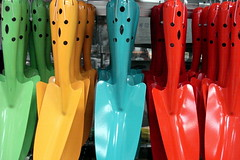Colorful Shovels - DSC01673