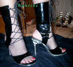 Black sandals-boots 4 (Kwnstantina) Tags: woman black sexy feet stockings female fetish foot shoes toes long pumps highheels legs boots sandals fishnet nails monroe heels pantyhose toering sandal pvc paintednails rednails greekfoot opentoes greekfeet heghheels nantine redlongnails γοβεσ πεδιλα μποτεσ monroeheel ψηλοτακουνα ψηλατακουνια μποτινι μποτινια