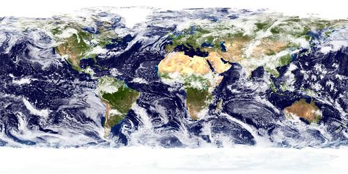 Terre vue de l'espace NASA