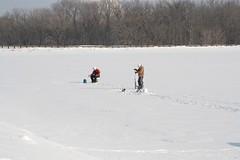 ice fishing (rainsitesphotography) Tags: iowa icefishing frozenlake lakepalo