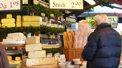 Viktualienmarkt Käsesorten