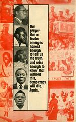 election 1969 candidates