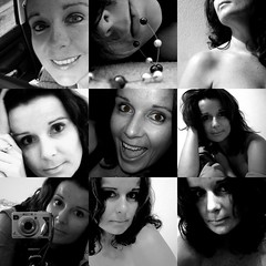 The Black And White Of Me 2007-2008  362/365 (eliselovesprada-sort of;-)) Tags: bw me face dedication collage experiments thankyou elise courage picassa project365 the99 newandlearning flickrgolfclub flickrhasmademegetinfrontofthecameramoreoften