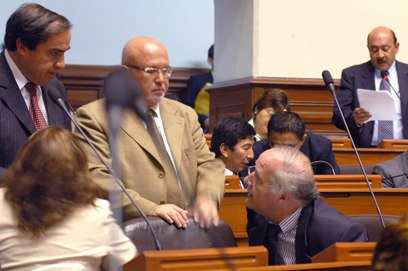 Congresistas peruanos