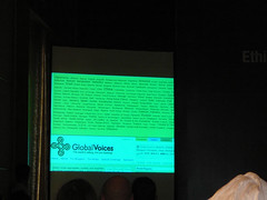 GIMD9 - Global Voices on the featured slide - 3 slides about GV been featured