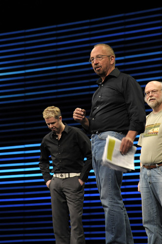 John Gage, James Gosling and Chris Melissinos, General Session, JavaOne 2008