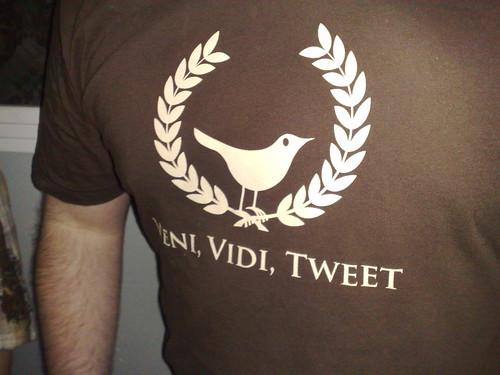 Veni, Vidi, Tweet