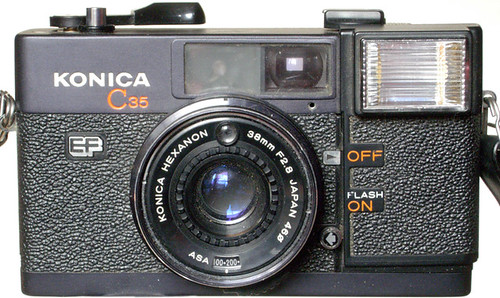 konica c35 ef camera wiki org the free camera encyclopedia rh camera wiki org Bizhub C35 Konica C35 Copier