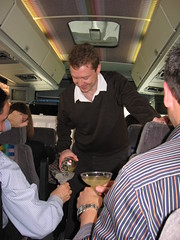 Pierre Hermé: Sébastien was pouring the margarita (again) in the bus