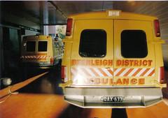 Park Ridge QATB Plant room ca.1988. (CooverInAus) Tags: ambulance paramedic queensland qatb station