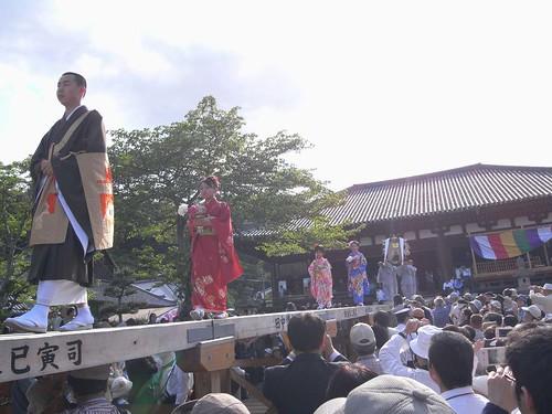 当麻寺「練供養会式」-02