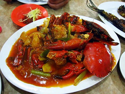 Kepiting Saos Padang