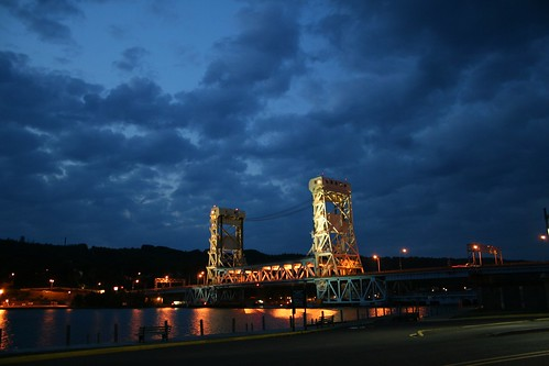 Lift Bridge at Dusk