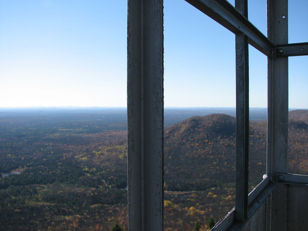 Azure Mountain firetower view