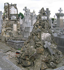 French tombstones