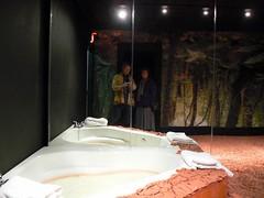 Krishnaraj Chonat's untitled (Benimoto) Tags: india art me museum mirror pittsburgh factory lindsay whirlpool clay installation tub bathtub mattress untitled mattressfactory krishnarajchonat