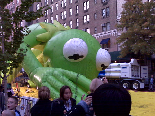 Kermit High-Fiving 81st St