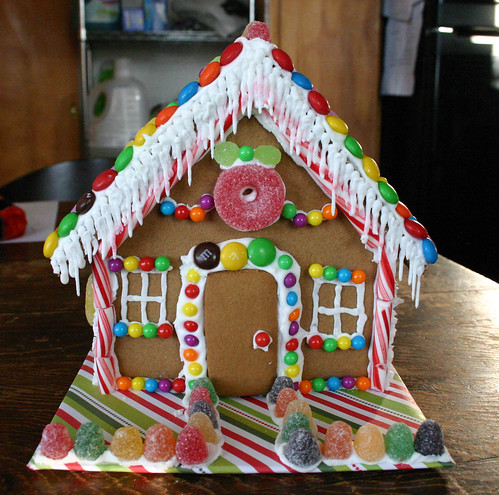 Gingerbread House - Front by Wendy Copley.