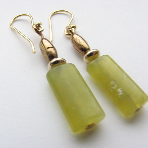 Golden Lemon Earrings