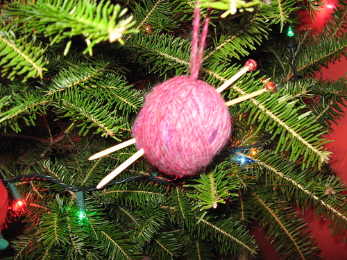 Knitting Ornament
