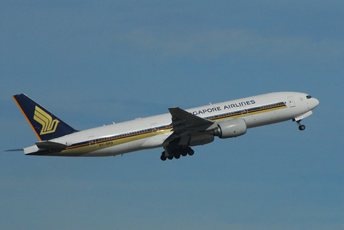 Singapore Airlines 777-200