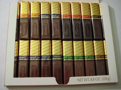 Merci Chocolate - inside box