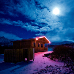 A magical night (Villi.Ingi) Tags: christmas winter moon house fairytale night clouds canon square wonder lights iceland silent wideangle explore 1020mm magical pipc skagastrnd 40d diamondclassphotographer flickrdiamond betterthangood world100f alemdagqualityonlyclub
