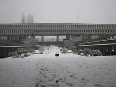 SFU in the winter (dejahthoris) Tags: sfu canon2470mmf28l simonfrasieruniversity
