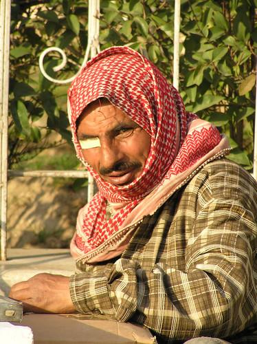 The beggar in Damascus