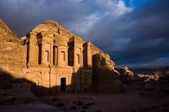 (Shemer) Tags: sunset clouds petra jordan drama shemer  shimritabraham