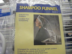 shampoo funnel (bradleygee) Tags: beauty hair colorado all head shampoo elderly co disabled lakewood upright velcro package sizes washing position fit funnel sallys supply