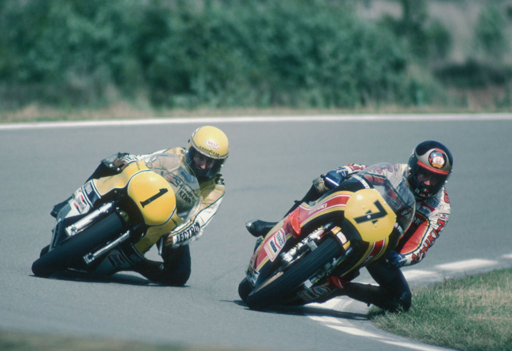 Bike Picture Of The Day Kenny Roberts And Barry Sheene In