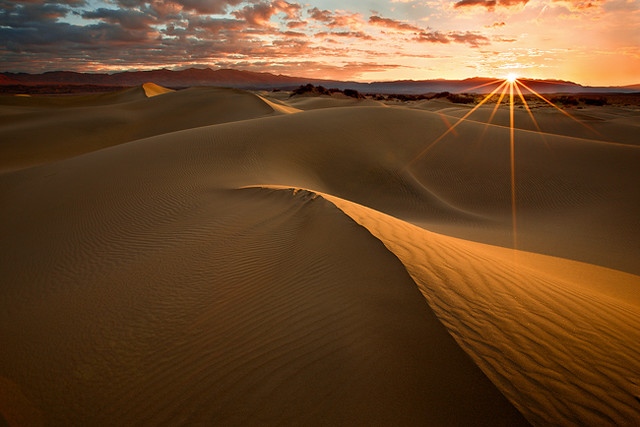 Death Valley Dunes Sunrise